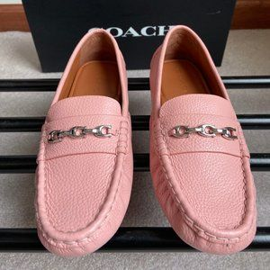 COACH Women Crossby Leather Loafers - NEW - NWB